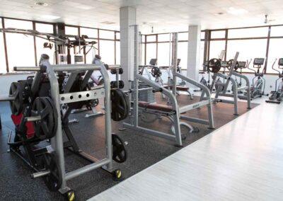 detalles sala ejercicio sparta