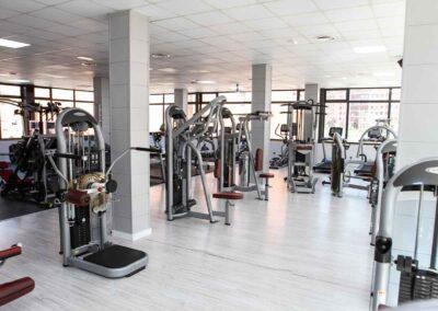 instalaciones gimnasio oviedo