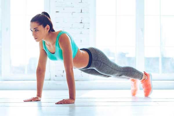 flexiones para corredores